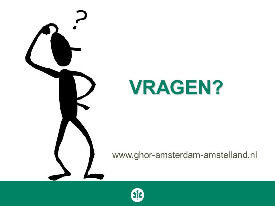 VRAGEN www.ghor-amsterdam-amstelland.nl