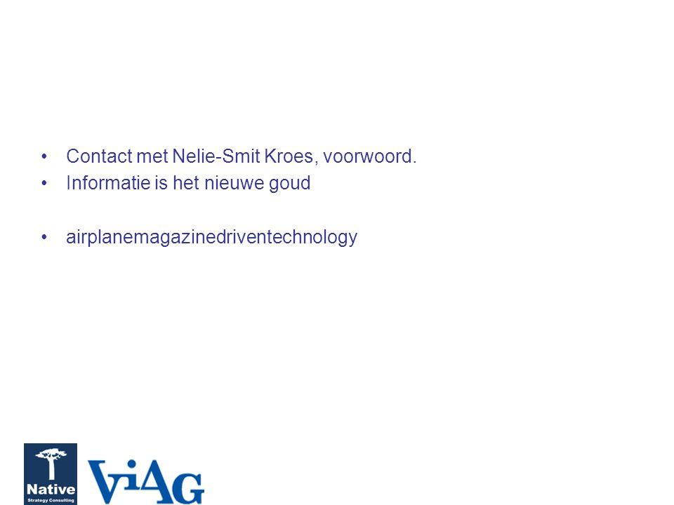Contact met Nelie-Smit Kroes, voorwoord.