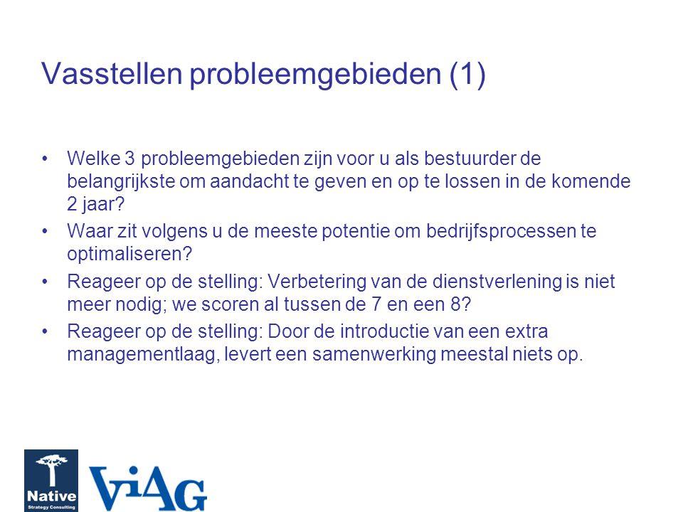 Vasstellen probleemgebieden (1)