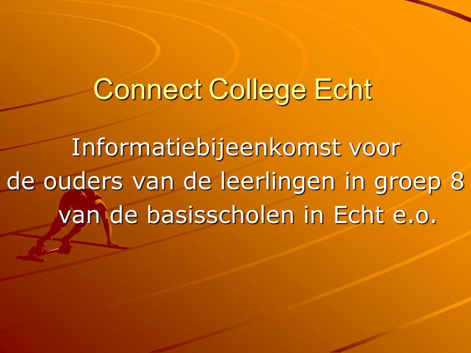 Connect College Echt Informatiebijeenkomst voor
