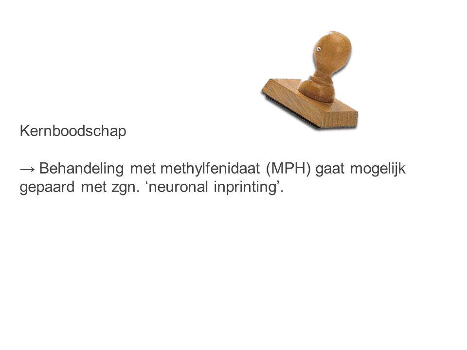 Kernboodschap → Behandeling met methylfenidaat (MPH) gaat mogelijk.