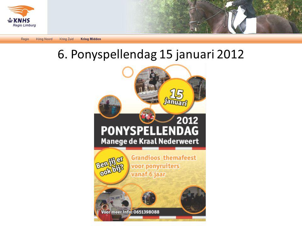 6. Ponyspellendag 15 januari 2012