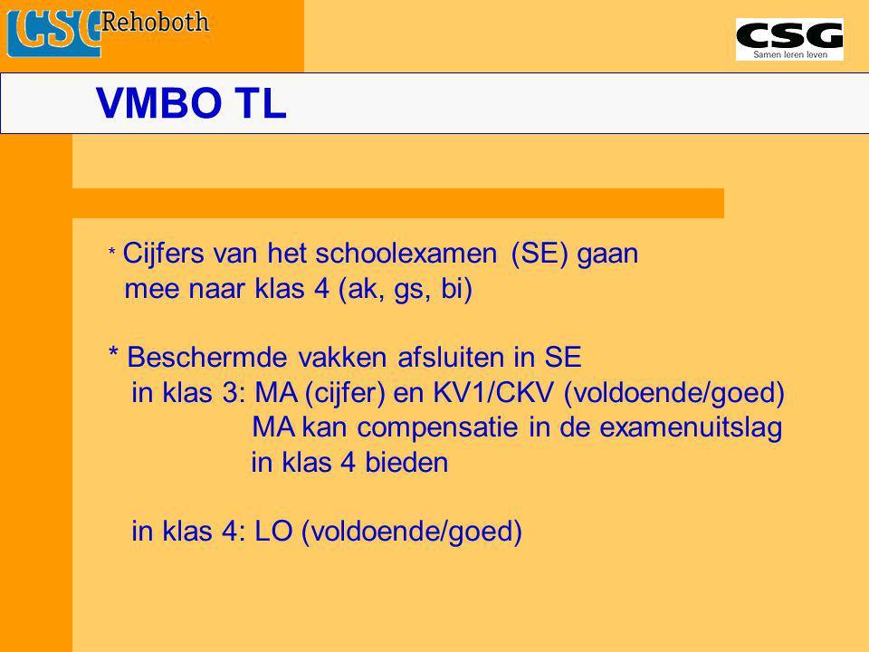 VMBO TL mee naar klas 4 (ak, gs, bi)