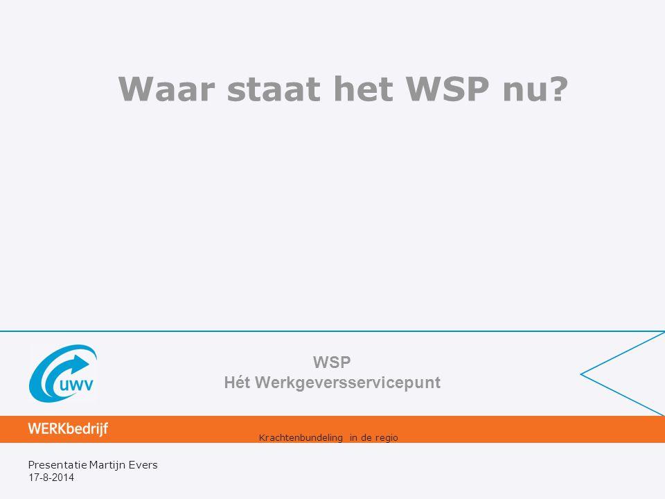 WSP Hét Werkgeversservicepunt