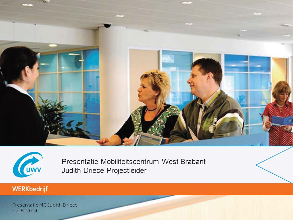 Presentatie Mobiliteitscentrum West Brabant