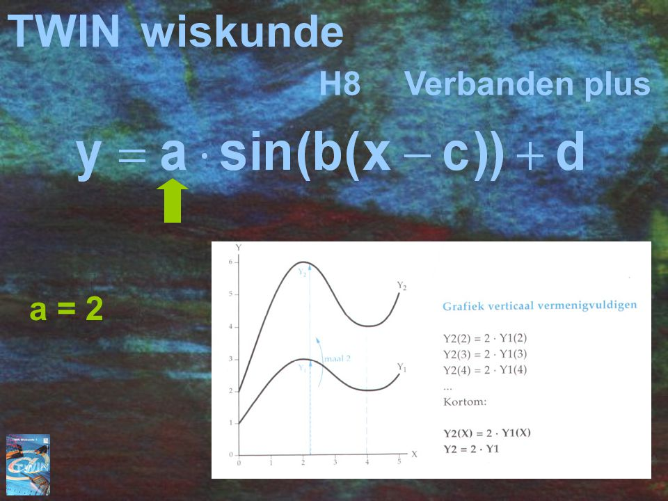 TWIN wiskunde H8 Verbanden plus a = 2