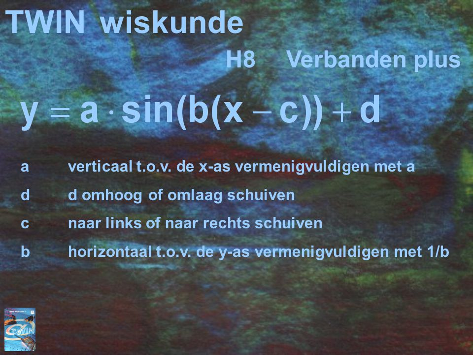 TWIN wiskunde H8 Verbanden plus