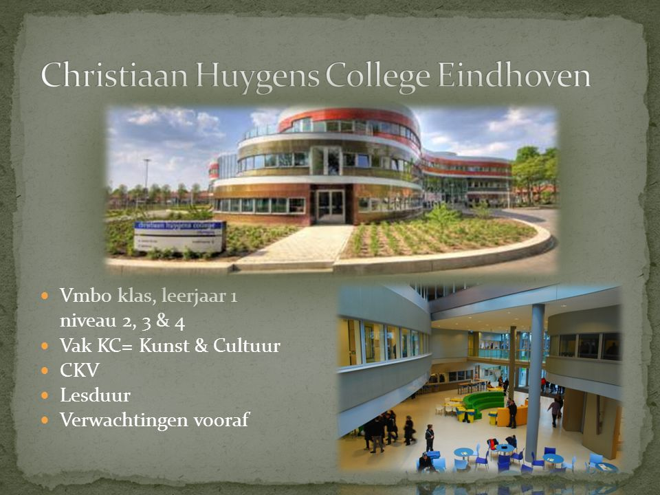 Christiaan Huygens College Eindhoven