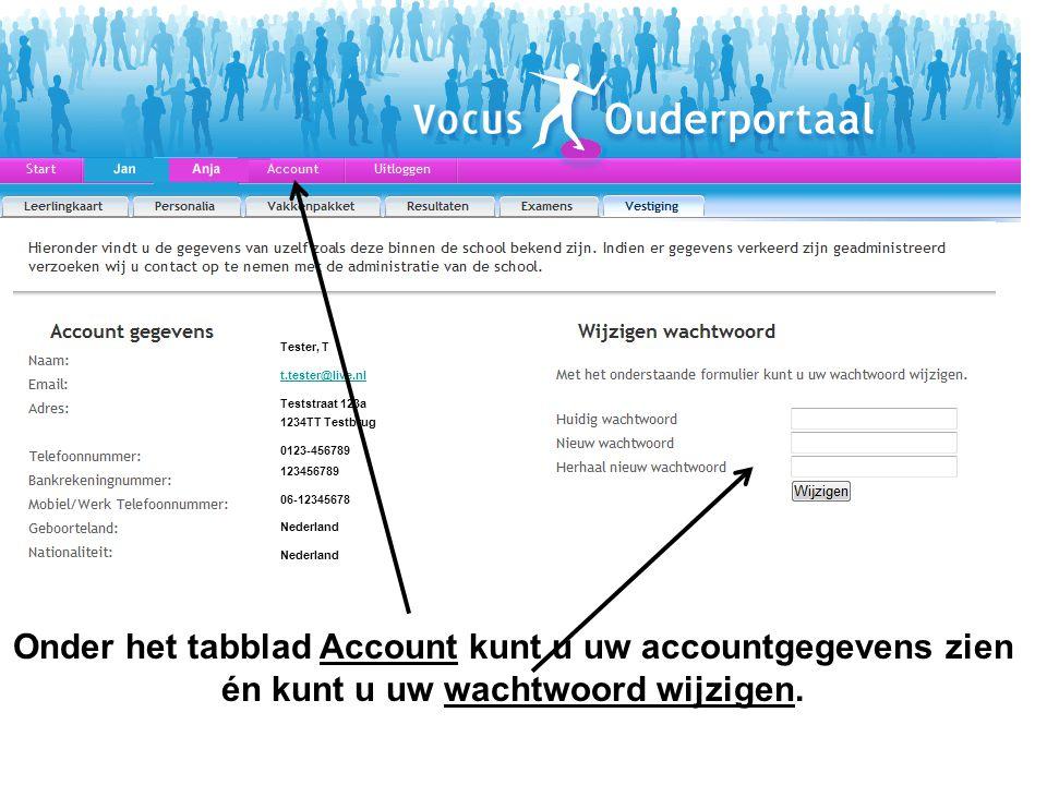 Tester, T t.tester@live.nl. Teststraat 123a. 1234TT Testbrug. 0123-456789. 123456789. 06-12345678.