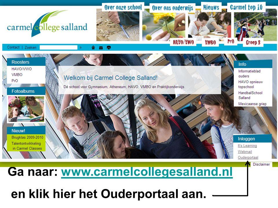 Ga naar: www.carmelcollegesalland.nl