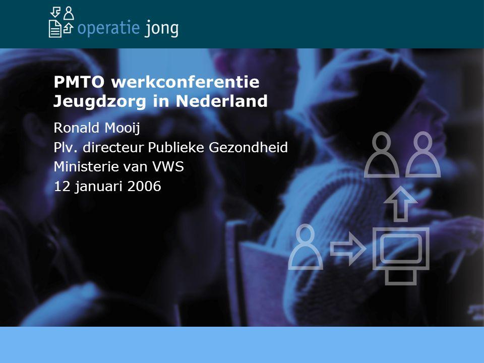 PMTO werkconferentie Jeugdzorg in Nederland