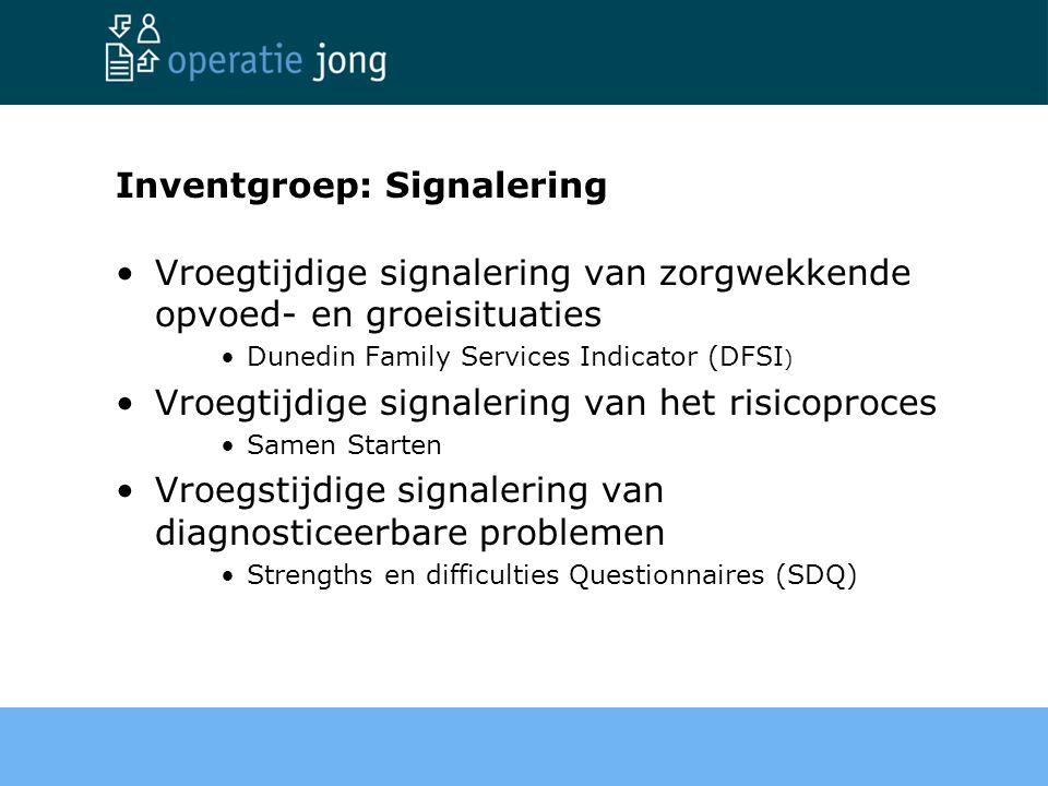 Inventgroep: Signalering