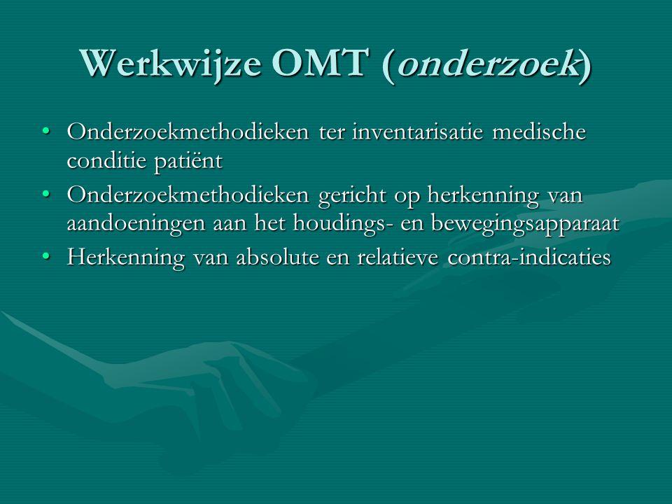 Werkwijze OMT (onderzoek)