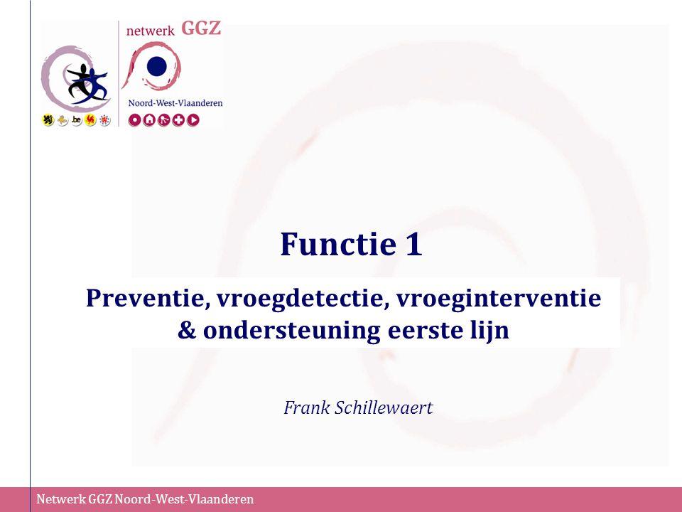 Preventie, vroegdetectie, vroeginterventie & ondersteuning eerste lijn