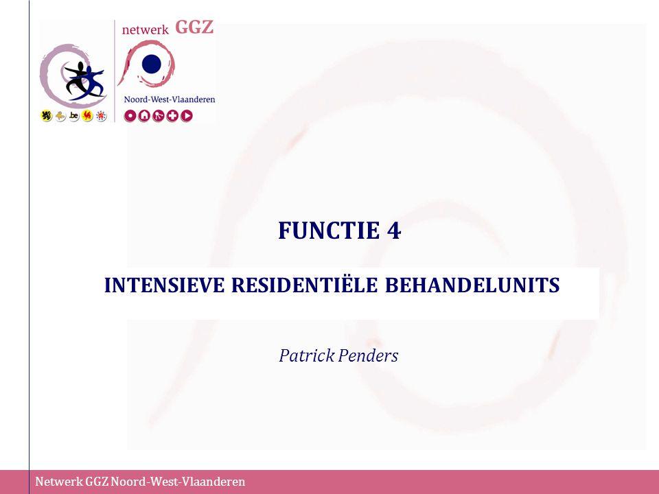 INTENSIEVE RESIDENTIËLE BEHANDELUNITS