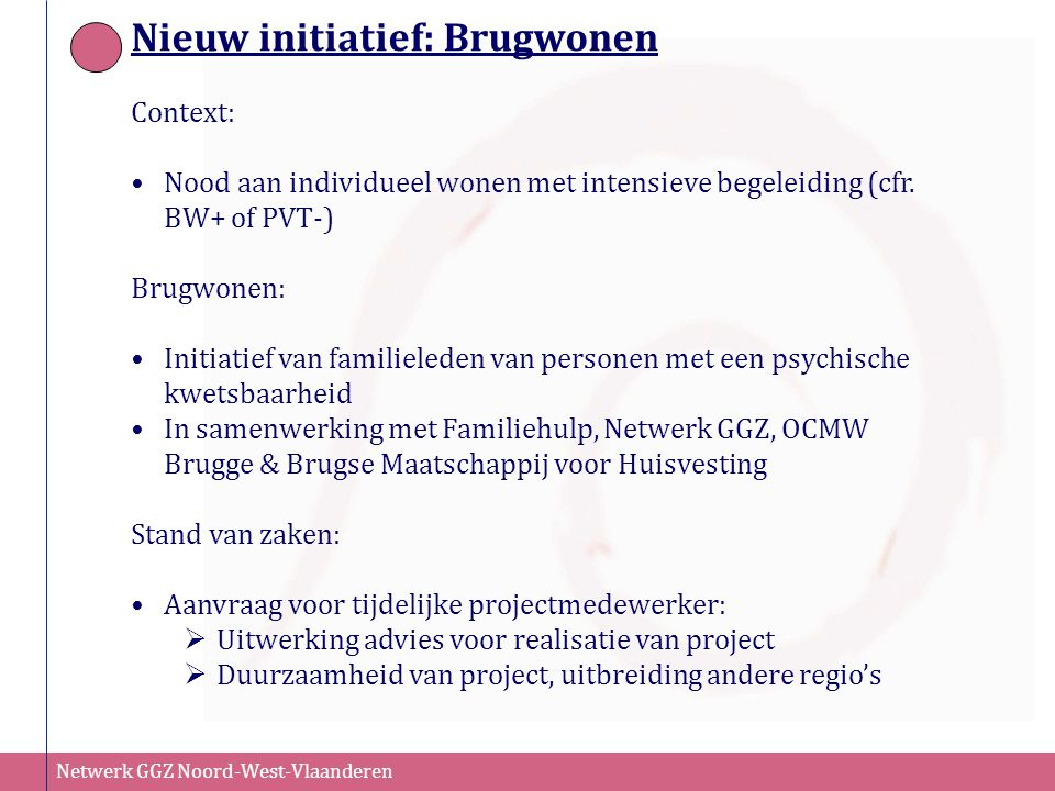 Nieuw initiatief: Brugwonen