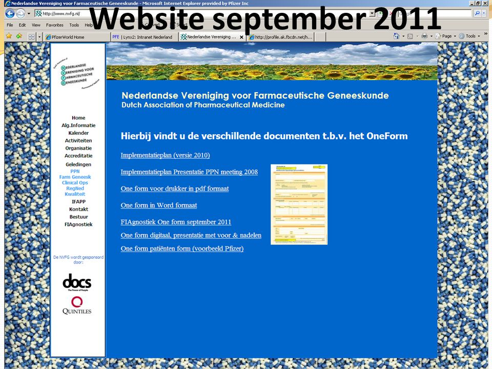 Website september 2011