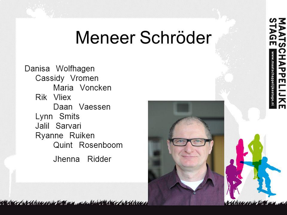 Meneer Schröder