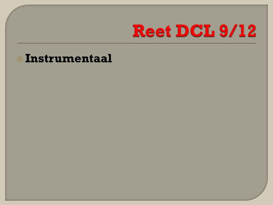 Reet DCL 9/12 Instrumentaal