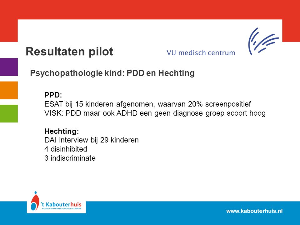 Psychopathologie kind: PDD en Hechting
