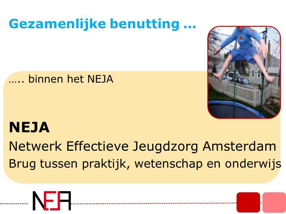 NEJA Gezamenlijke benutting … Netwerk Effectieve Jeugdzorg Amsterdam