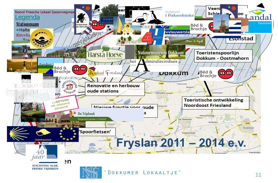 De Noord Friesche kaart opnieuw getekend!