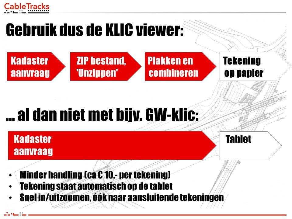 Gebruik dus de KLIC viewer:
