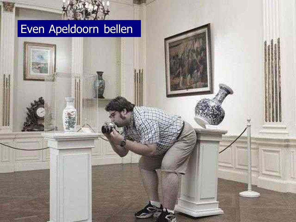 Even Apeldoorn bellen