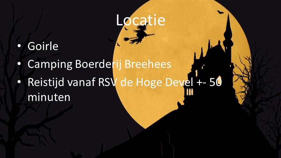 Locatie Goirle Camping Boerderij Breehees