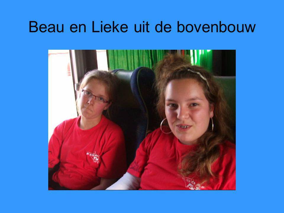 Beau en Lieke uit de bovenbouw
