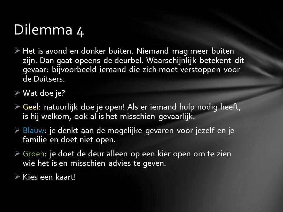 Dilemma 4