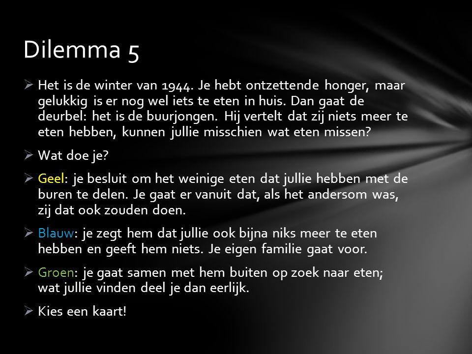 Dilemma 5