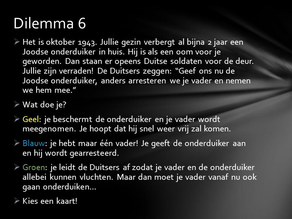 Dilemma 6