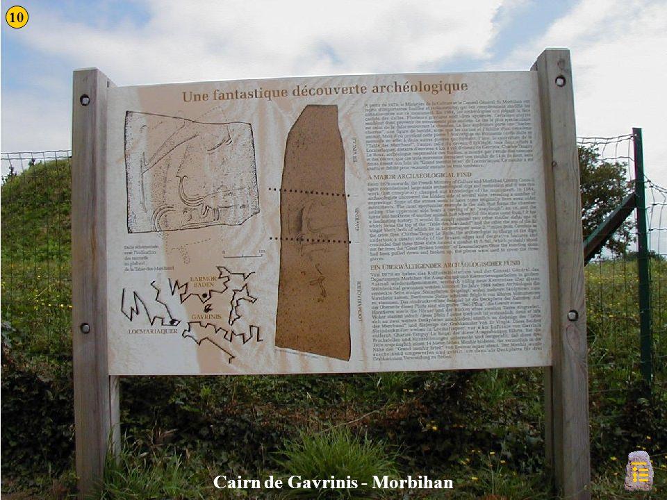 Cairn de Gavrinis - Morbihan