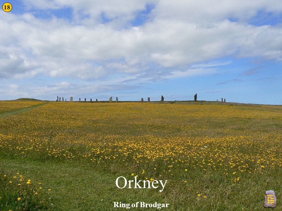 18 Orkney Ring of Brodgar