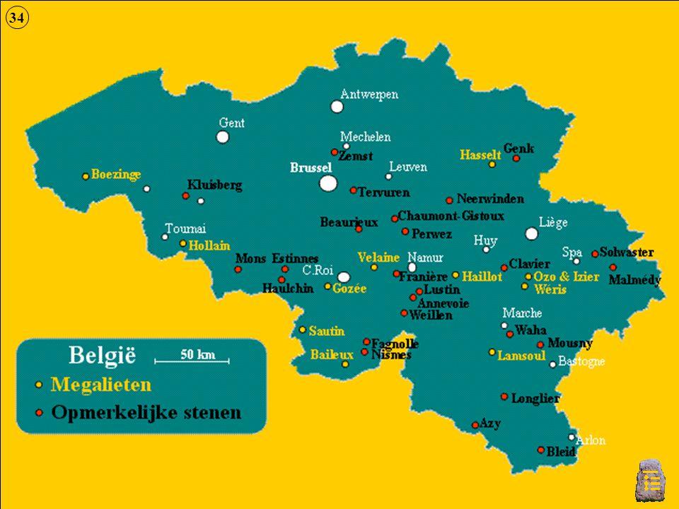 34 Kaart België