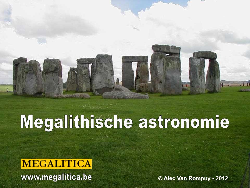 Megalithische astronomie