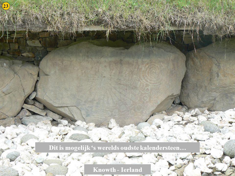Dit is mogelijk 's werelds oudste kalendersteen…