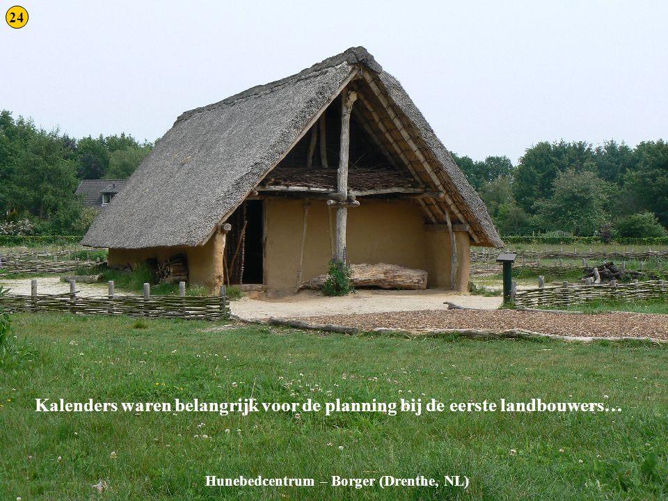 Kalenders waren belangrijk voor de planning bij de eerste landbouwers…