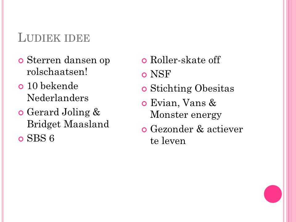Ludiek idee Sterren dansen op rolschaatsen! 10 bekende Nederlanders