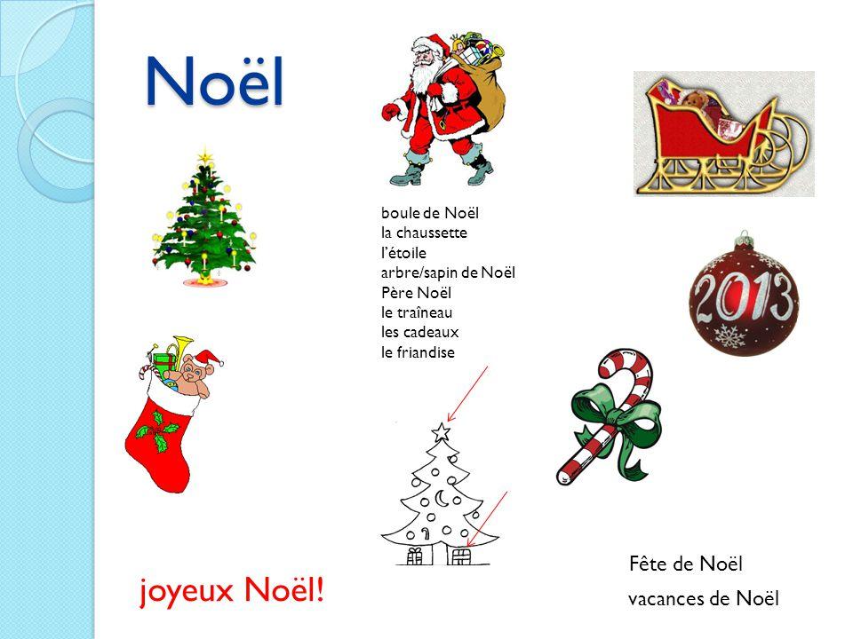 Noël joyeux Noël! Fête de Noël vacances de Noël boule de Noël