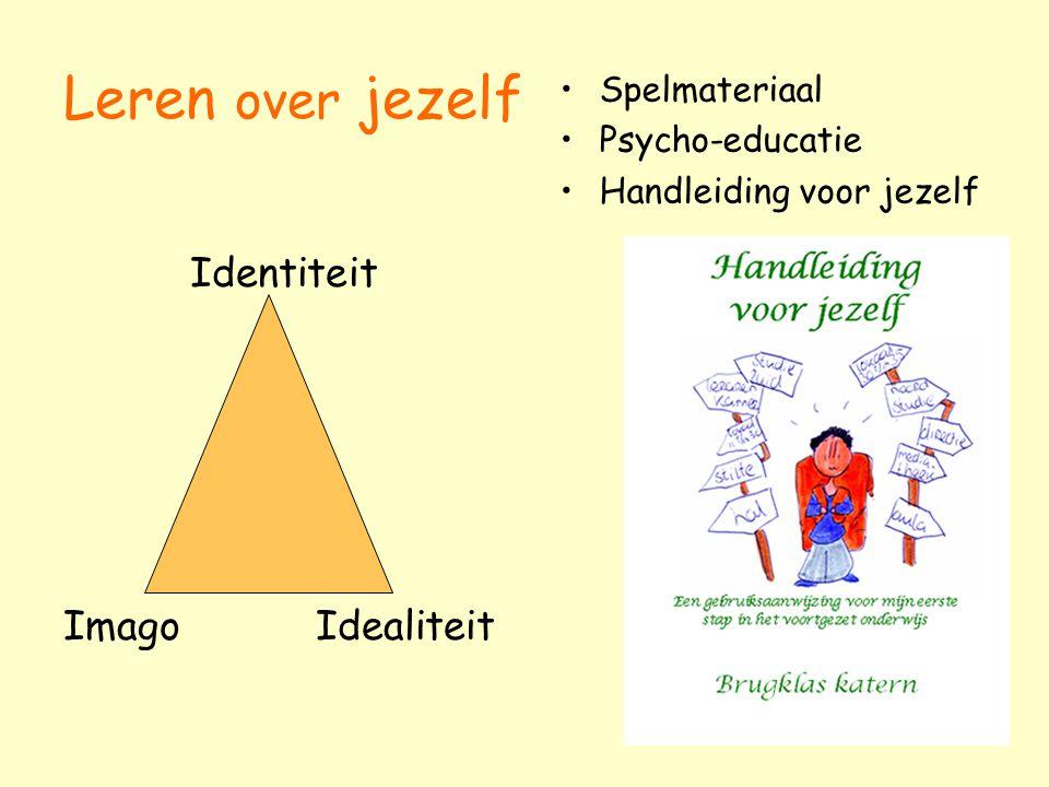 Leren over jezelf Identiteit Imago Idealiteit Spelmateriaal