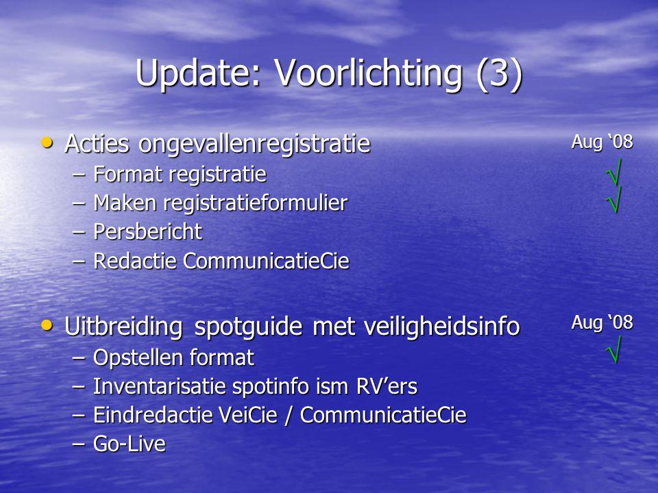 Update: Voorlichting (3)