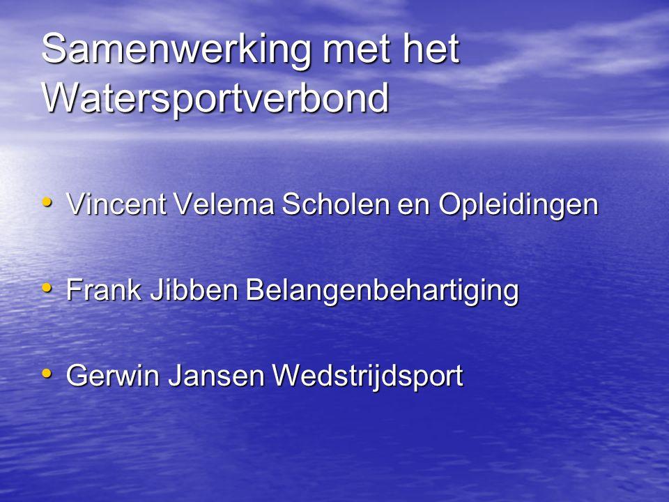 Samenwerking met het Watersportverbond