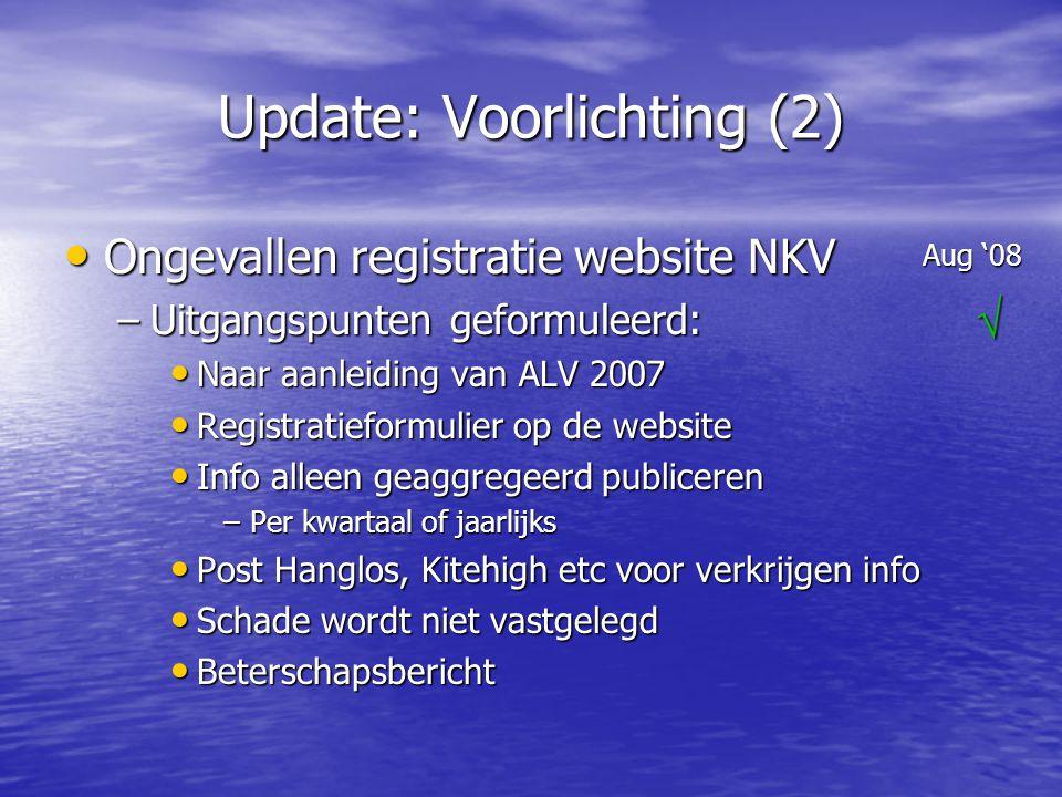 Update: Voorlichting (2)