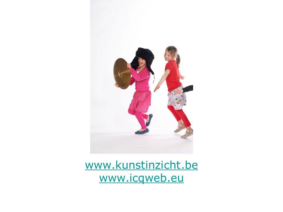 www.kunstinzicht.be www.icqweb.eu