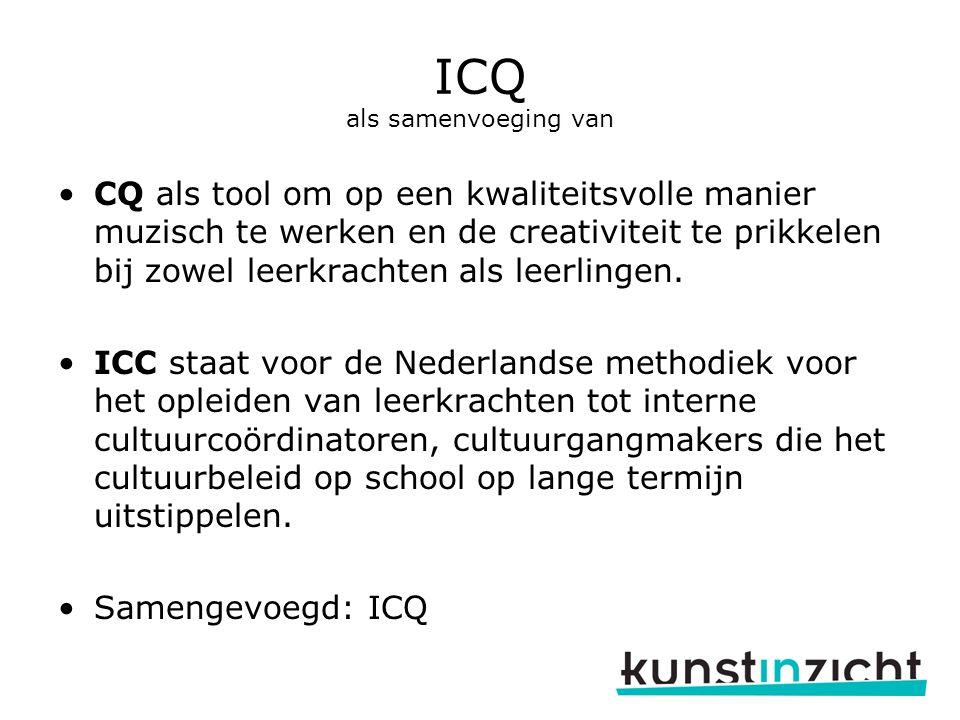 ICQ als samenvoeging van