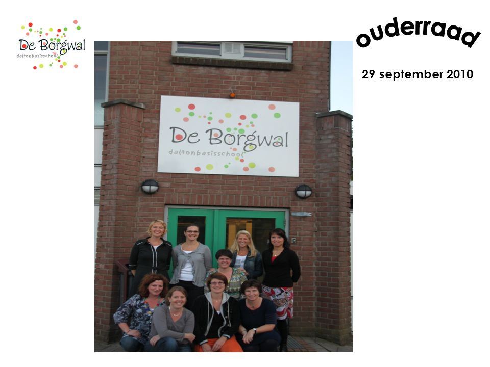 ouderraad 29 september 2010