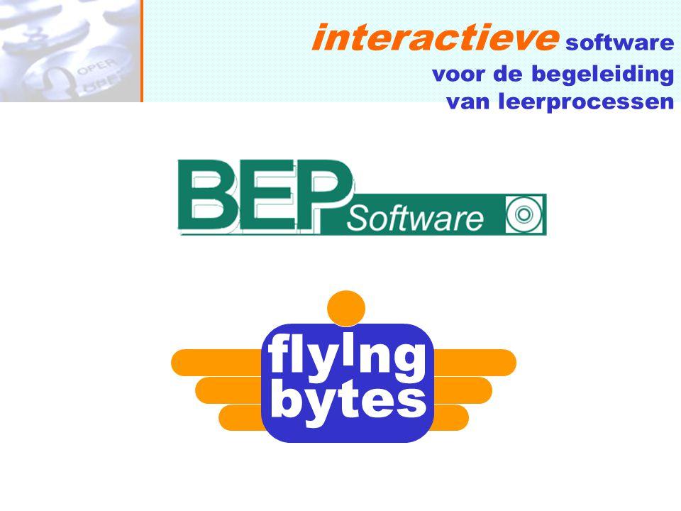 fly ng bytes interactieve software voor de begeleiding