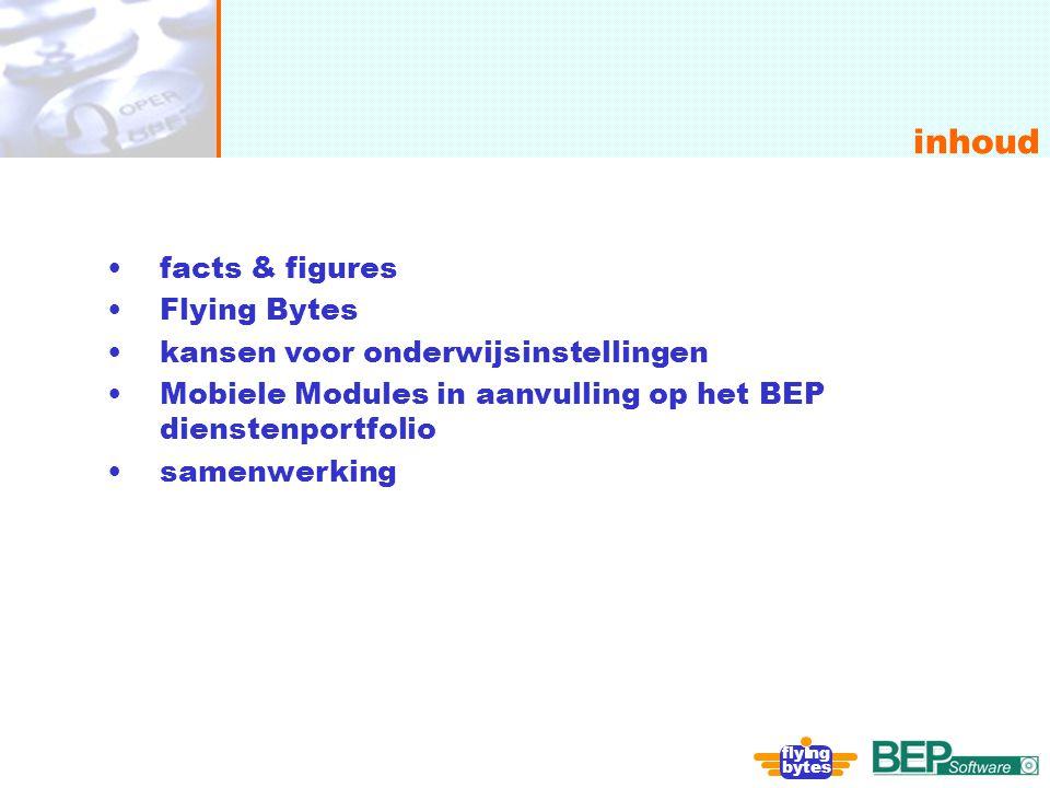 inhoud facts & figures Flying Bytes kansen voor onderwijsinstellingen